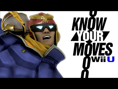 Captain Falcon is a FRAUD Know Your Moves FULL Character and Moveset History