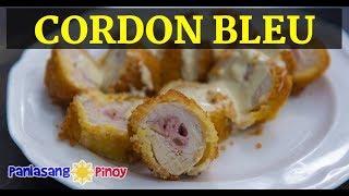 No Bake Chicken Cordon Bleu with Dijon Cream Sauce