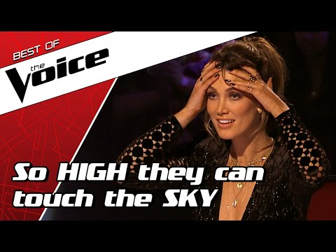 TOP 10 Stunning HIGH NOTES in The Voice that are out of this world