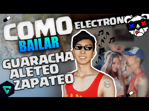 Como bailar aleteo guaracha zapateo pandereta Electronica Yonkist Live