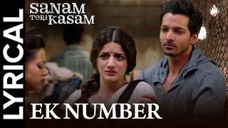 Lyrical: Ek Number | Full Song with Lyrics | Sanam Teri Kasam