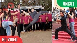 UNCUT - BAAGHI Action Stunt - On Location Shoot | Tiger Shroff , Shraddha Kapoor , Sajid Nadiadwala