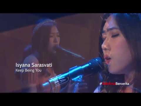 Isyana Sarasvati - Keep being you (live) at Ciputra Artpreneur mp3