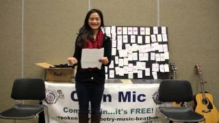 March 2014 Open Mic - Kelly -