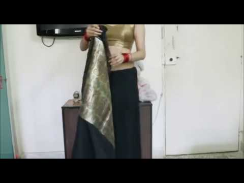 How To Tie An Indian Saree:Step by Step Easy Sari Wearing Tutorial