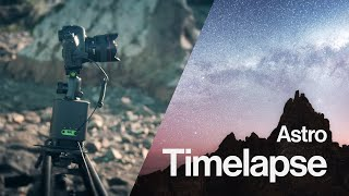 Tutorial: How to setup a motion star timelapse using the Syrp Genie - Mark Gee