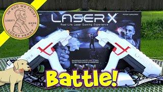 Laser X Real-Life Laser Gun Gaming Battle Experience