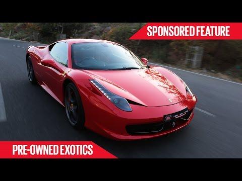 Xxx Mp4 Pre Owned Exotics Ferrari 458 Italia Sponsored Feature 3gp Sex