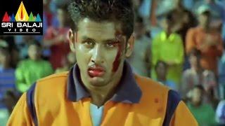Sye Movie Rugby Match 2nd Half | Nithin, Genelia | Sri Balaji Video