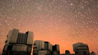 VLT (Very Large Telescope) - HD Timelapse Footage