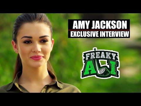 FREAKY ALI Movie 2016   Amy Jackson Exclusive Interview (Audio)