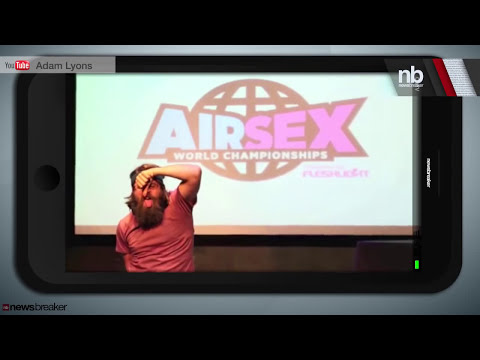 AIR SEX: Contestants Show Off Their Skills With Invisible Partner at Championships in London