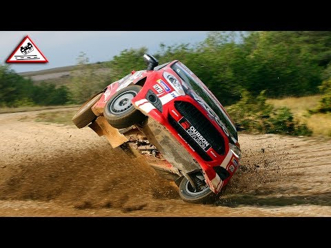 The Best of Rally 2018 Crash and Show Passats de canto