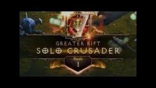 Diablo 3   GR125 Solo Crusader   Rank 1 WORLD (Condemn)