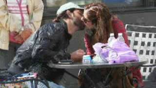 Hrithik kissing Susanne Public & Barbara in Kites