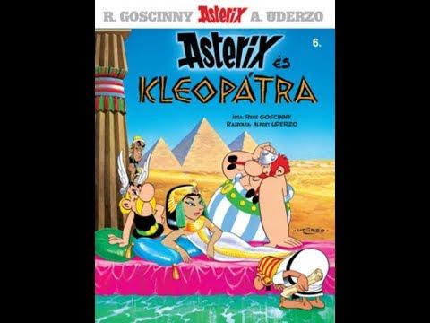 Asterix és Kleopátra Teljes mesék magyarul