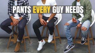Top 5 Pants EVERY Young Guy NEEDS For School