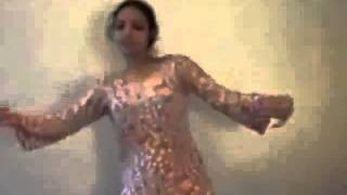 Beautiful Indian Girl Home Dance