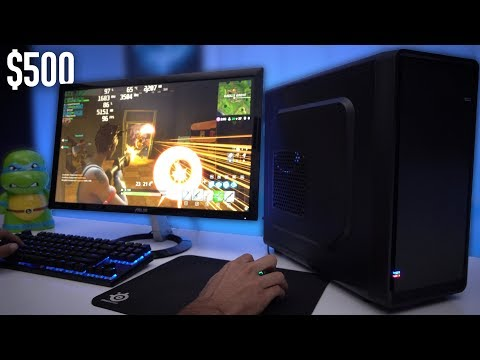 500 Budget Gaming PC Build Guide GTX 1050 Ti w Benchmarks