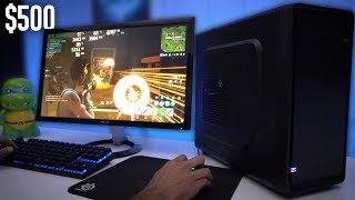 Best $500 Budget Gaming PC Build Guide - GTX 1050 Ti (w/ Benchmarks)