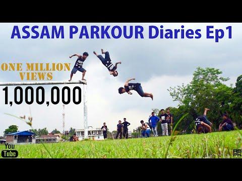 Assam Parkour Diaries Ep1 | Indian Parkour