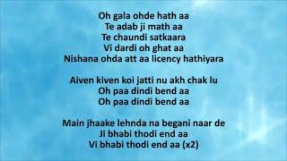 BHABI THODI END AA LYRICS – Resham Singh Anmol