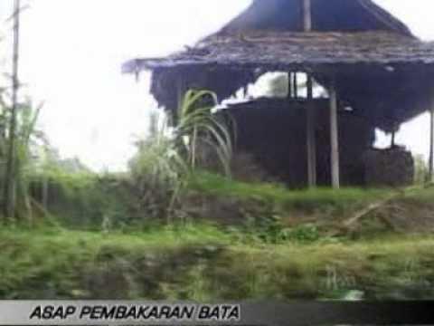 Pencemara Asap Pembakaran Batu bata di Lombok