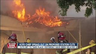 KCFD chief speaks out on proposed cuts