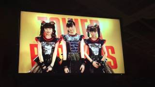 2nd album 「METAL RESISTANCE」 video message from BABYMETAL