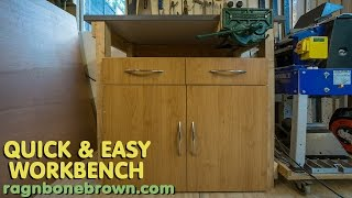 Making a Quick & Easy Workbench