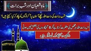 Maah-e-Sha'ban & Shab barat ( How To Spend ) ماہ شعبان اور شب برات کی برکتیں  Urdu/Hindi
