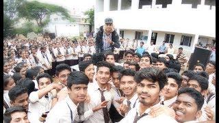 Shrenik - Real Guy live in Mahesh Pu college Belgaum |Performance|Fans|