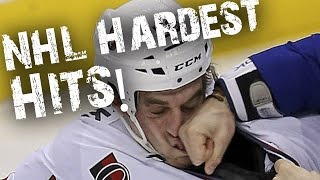 Top 10 Hardest Hits on NHL Stars