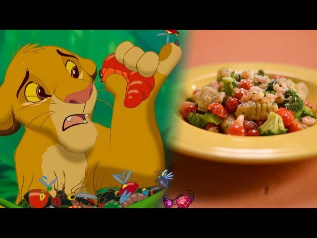 Simba's Slimy Yet Satisfying Grub Gnocchi Recipe | Inspired by Disney's Lion King