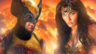 WONDER WOMAN vs WOLVERINE - ALTERNATE ENDING  - Super Power Beat Down
