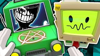 AUTO MECHANIC SUMMONS BENDY AND BUILDS HIM A CAR! | Job Simulator VR (Let
