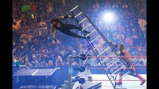 The Undertaker vs Edge - TLC Match - One Night Stand 2008 - Undertaker Almost Destroyed Edge And Co