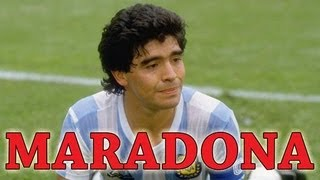 Diego Armando Maradona - Greatest Football (Soccer) Player of All Time - Napoli, Best Goals