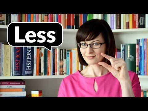 Less czy fewer? Little, a little, few, a few | Po Cudzemu #37