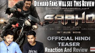 SAAHO TEASER Reaction And Review | Prabhas, Shraddha Kapoor
