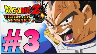 Let's Play Dragon Ball Z: Ultimate Tenkaichi - Part 3 (German/Deutsch/HD) - Vegeta der Affe