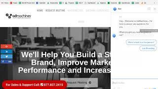 Drift Bot Website Conversion Tool Demonstration