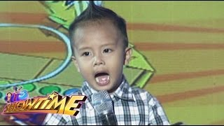 It's Showtime: MiNiME ni Bamboo nakipagrakrakan sa It's Showtime