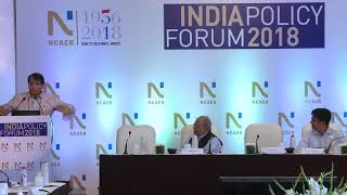 Union Minister Suresh Prabhu's Keynote Address at the 2018 India Policy Forum