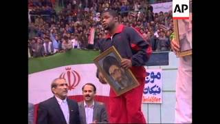 Iran - US sports team competes in Tehran