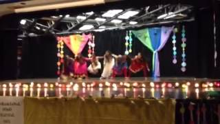 Girls Bollywood Dance Performance 2015 (Ghagra, Dilliwali Girlfriend, Balam Pichkari, Nagada)