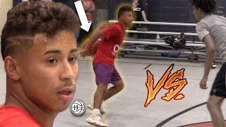 Julian Newman INTENSE Game of 1v1s Part 2! Showing OFF NEW MOVE!?