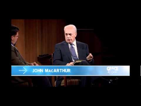 John MacArthur on evolution and the authority of scripture