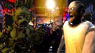 How TO MAke Slendrina Granny Not Scary Episode 3FEAT SPRINGTRAP FUNTIME FREDDY & SPRING BONNIE