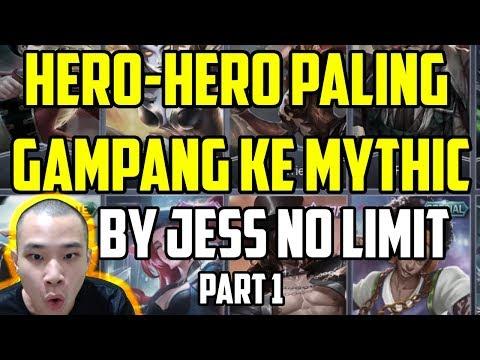 HERO-HERO PALING GAMPANG NAIK KE MYHTIC !!!